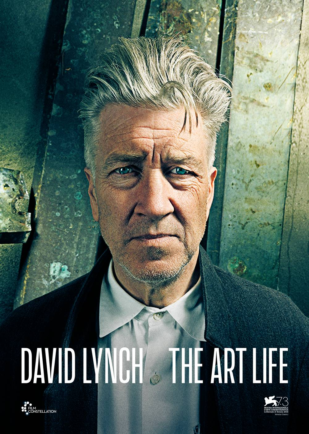 Davlid Lynch - The Art Life (internasjonal plakat)